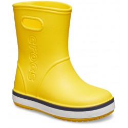 Cizme Crocs - Crocs Crocband Rain Boot Yellow/Navy