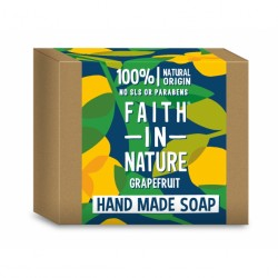 Sapun solid cu grapefruit, Faith in Nature, 100 g