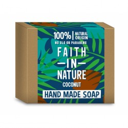 Sapun solid cu cocos - Faith in Nature - 100 g