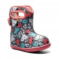 Baby Bogs Puppy - Dark Gray Multi