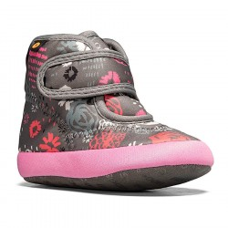 Bogs Elliot II Garden Party - Dark Gray Multi