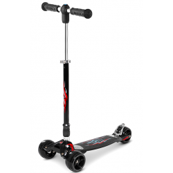 Micro Kickboard Monster Black - Trotineta adulti