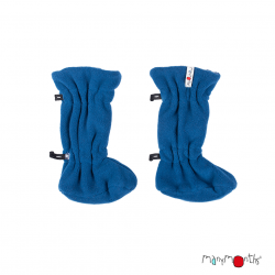 Botosei ManyMonths Winter Booties pt babywearing - Cosmos Blue/Midnight Blue
