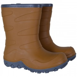 Cizme impermeabile captusite cu lana Mikk-Line Thermo Boots - Golden Brown