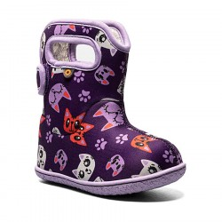 Baby Bogs Kitty - Purple Multi