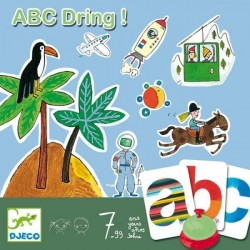 Joc de societate abecedar – ABC dring Djeco