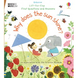 Lift-the-Flap First Questions and Answers Why Does the Sun Shine? - Usborne