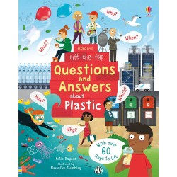 Lift-the-Flap Questions and Answers about Plastic - Usborne