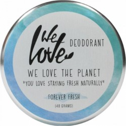 Deodorant natural crema Forever Fresh, We love the planet, 48 g
