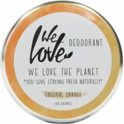 Deodorant natural crema Original Orange, We love the planet, 48 g