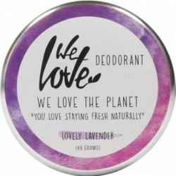 Deodorant natural crema Lovely Lavender, We love the planet, 48 g