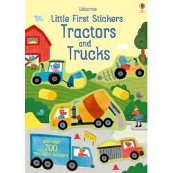 Little First Stickers Tractors and Trucks - Usborne