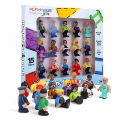 Set Playmags 15 figurine magnetice