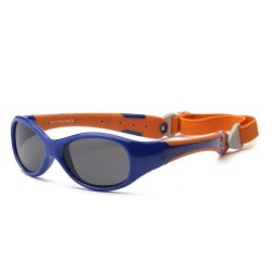 Ochelari de soare Real Kids Shades Explorer - Navy & Orange