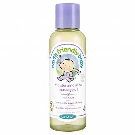 CUlei de masaj fara parfum, cu unt de shea - Earth Friendly Baby